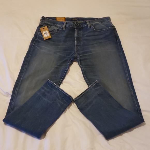 Polo Ralph Lauren Denim Jeans Varick Slim Straight